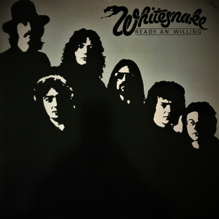 Whitesnake ‎- Ready An' Willing (LP) (VG-/G-VG)